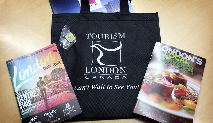 delegate kit with visitor guide and culinary guide