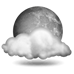 Current Weather: Mostly Cloudy
