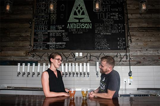 Something special is brewing as Anderson Turns 2