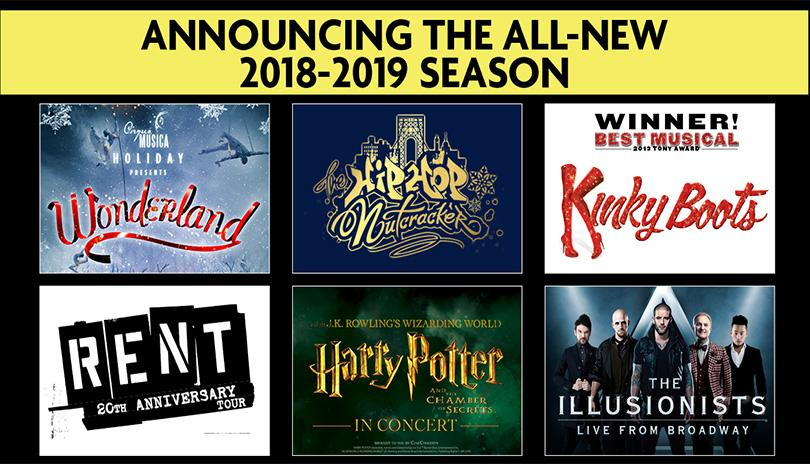 Broadway in London announcing all new 2018-2019 Season