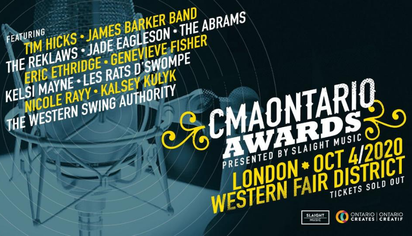 CMAOntario Awards To Be Presented In A Drive-In Style Show At New Venue