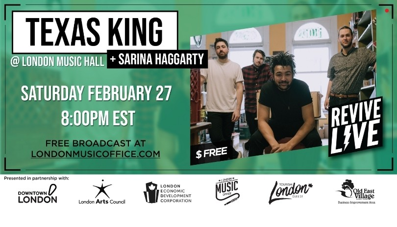 Revive Live with Texas King and Sarina Haggarty