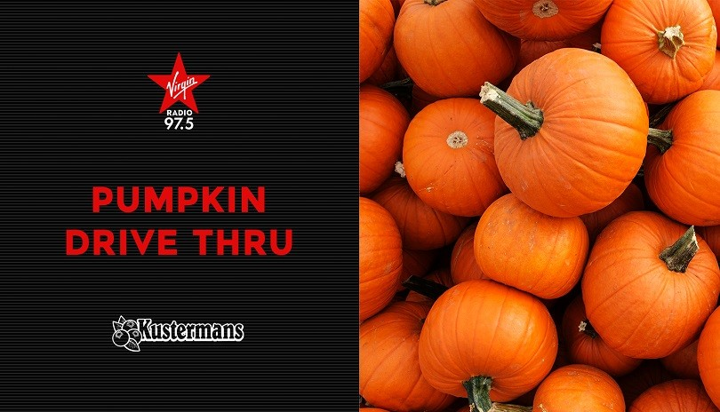 Virgin Radio's Pumpkin Drive Thru with Jeff, Laura and Backstage Ben!