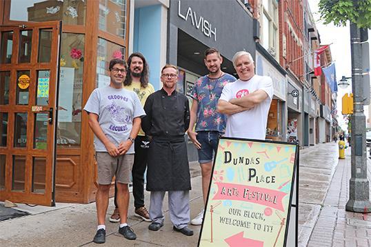 Dundas Place Arts Festival offers a glimpse into the future