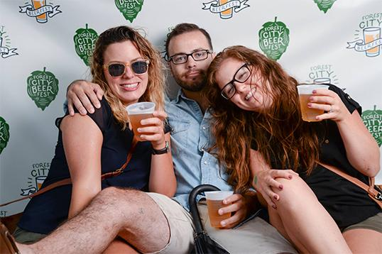 Forest City Beer Fest enjoying a whole new world