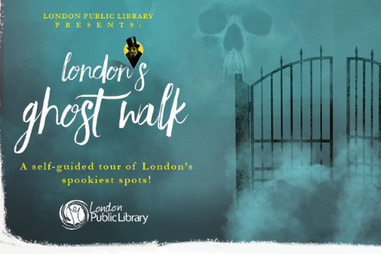 London's Ghost Walk: A Self Guided Tour
