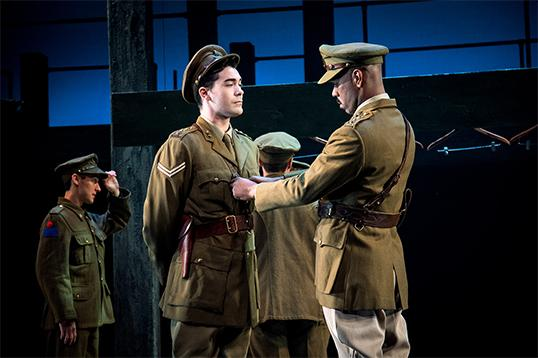 From the page to the stage, Timothy Findley's The Wars