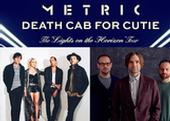 Metric and Death Cab Pair Up for the Lights on the Horizon Tour
