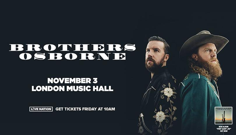 Brothers Osborne Live at London Music Hall