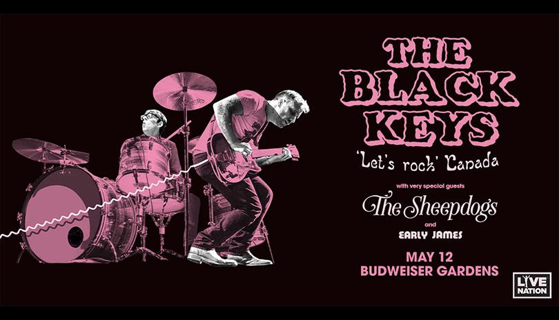 FM96 PRESENTS THE BLACK KEYS LETS ROCK