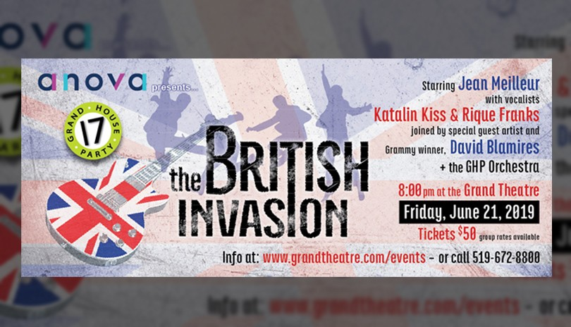 Grand House Party 17 - THE BRITISH INVASION
