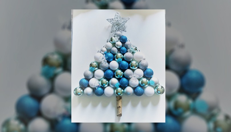 Holiday Crafting Class Ornament Tree