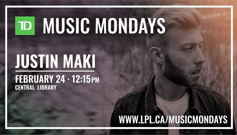 TD Music Mondays - Justin Maki