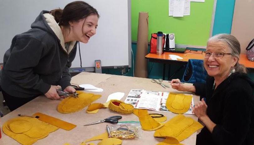 Moccasin Making Workshop