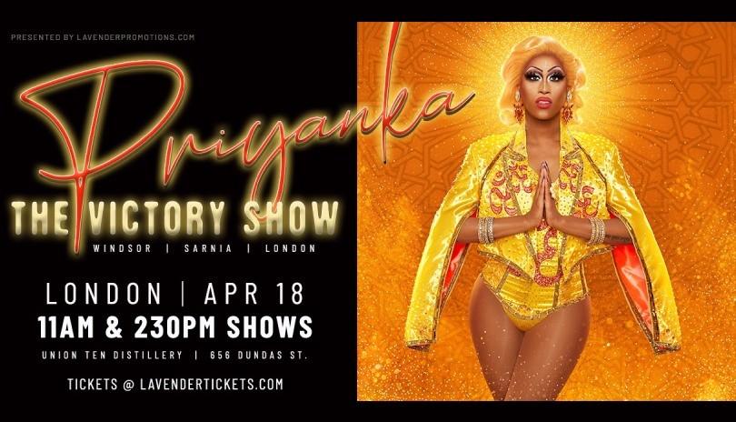 The Victory Show: London with Priyanka