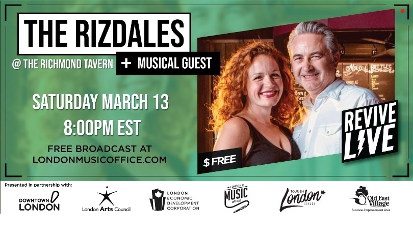 Revive Live with The Rizdales & Musical Guests