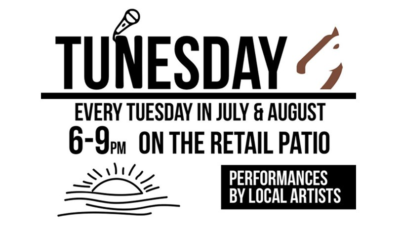 Tunesday at Dark Horse Estate Winery - August 27