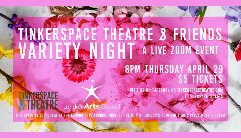 Tinkerspace Theatre and Friends Variety Night