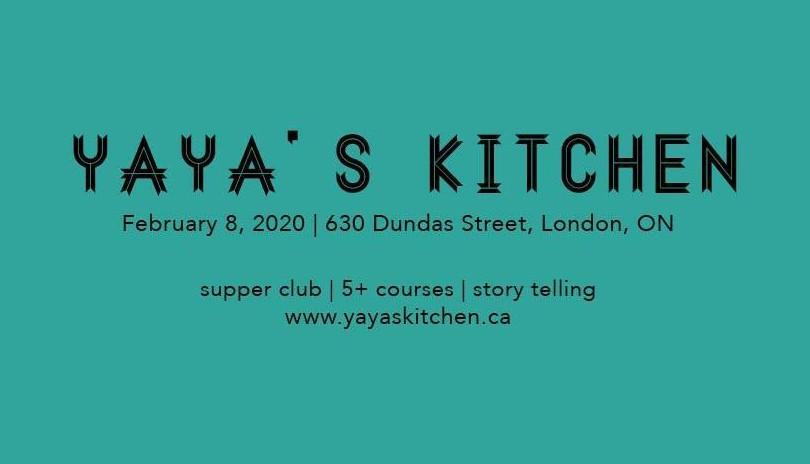 Yaya's Kitchen - Black History Month Supper Club