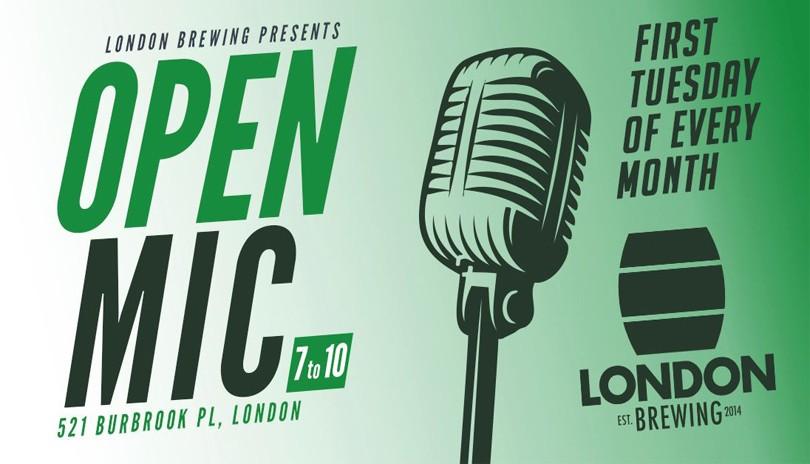 Open Mic at London Brewing - November 3