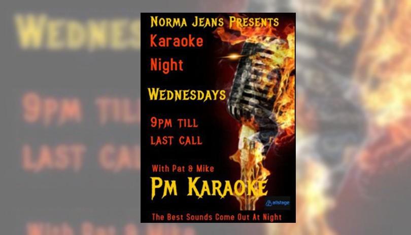 Karaoke at Norma Jeans - October 16