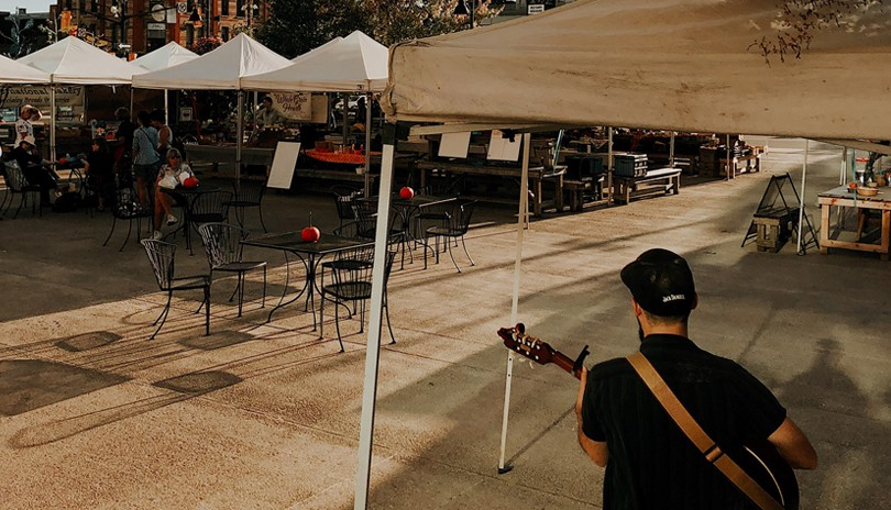 Live Music at the Farmers' Market! - October 3
