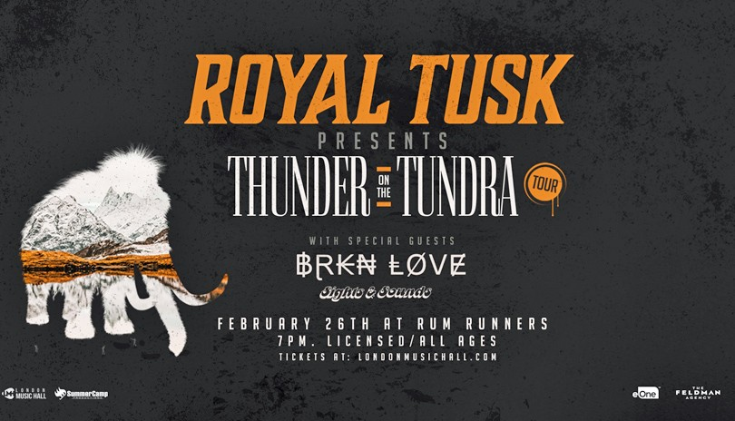 Royal Tusk with Brkn Love & Sights & Sounds