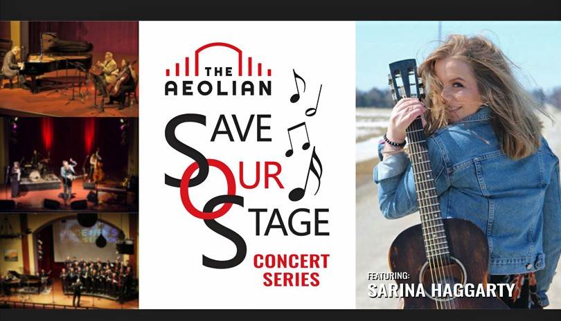 Save Our Stage Concert Series: Sarina Haggarty