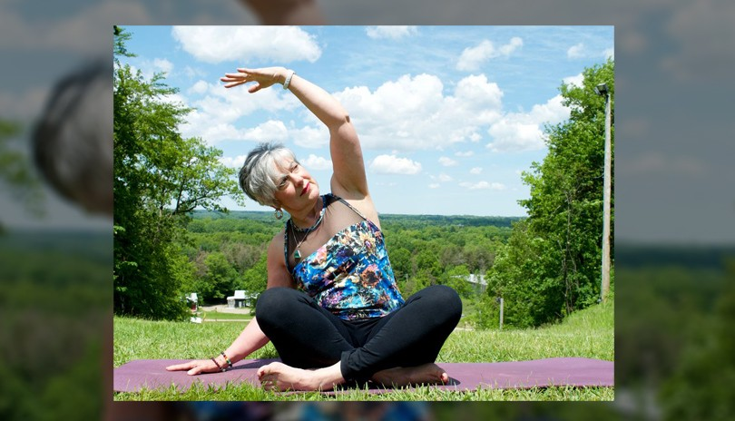 Yoga At the Mountain - August 19