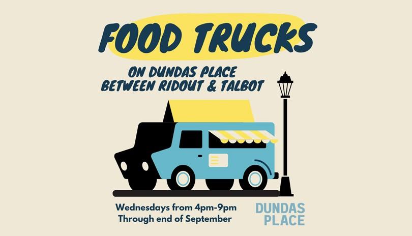 Food Trucks on Dundas Place