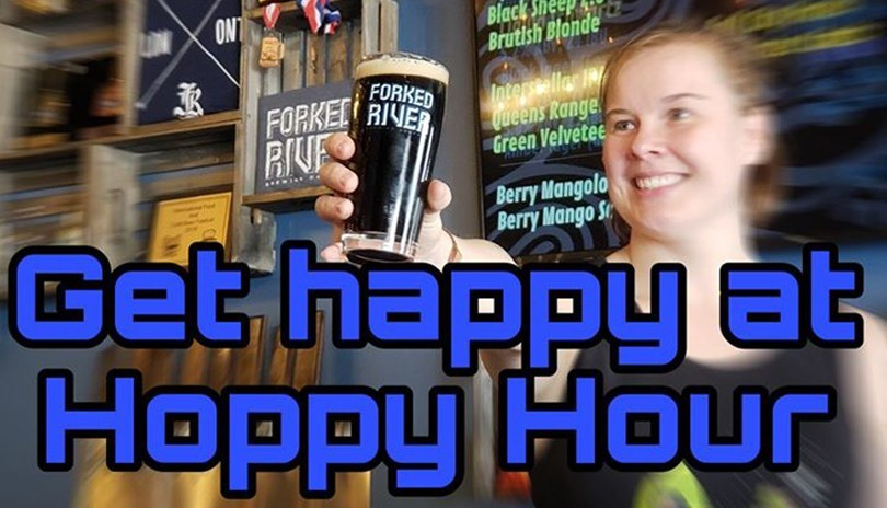 Hoppy Hour at Forked River - December 31