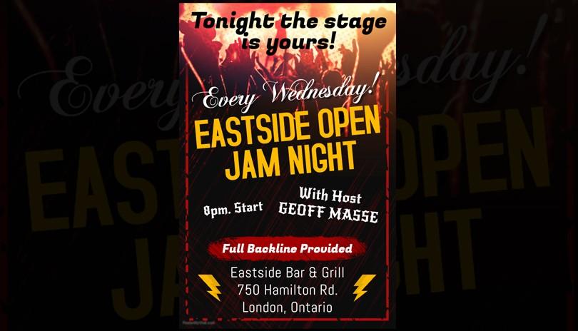 Eastside Open Jam Night - April 24