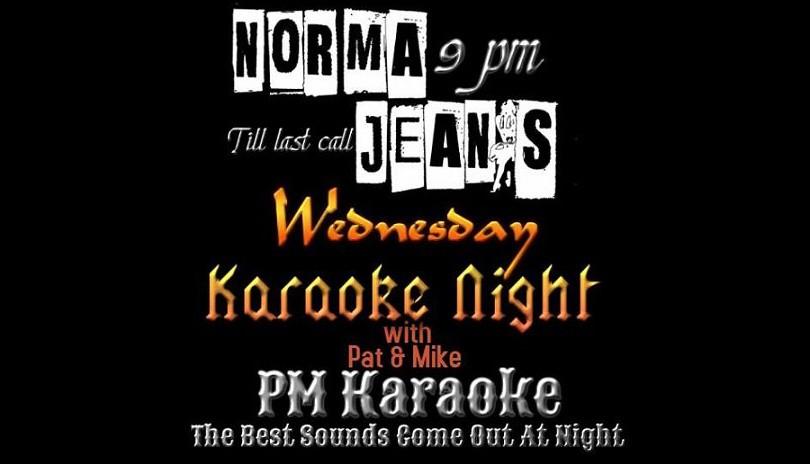 Karaoke at Norma Jeans - July 24