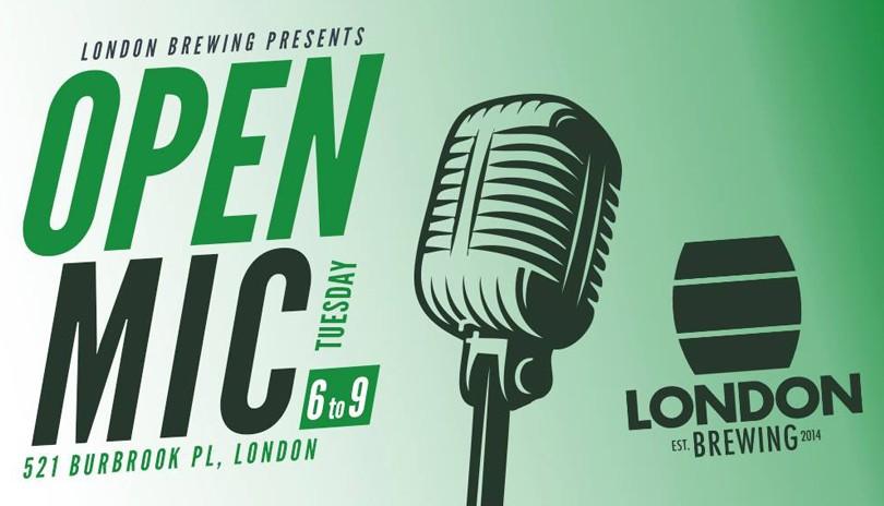 Open Mic at London Brewing - April 23