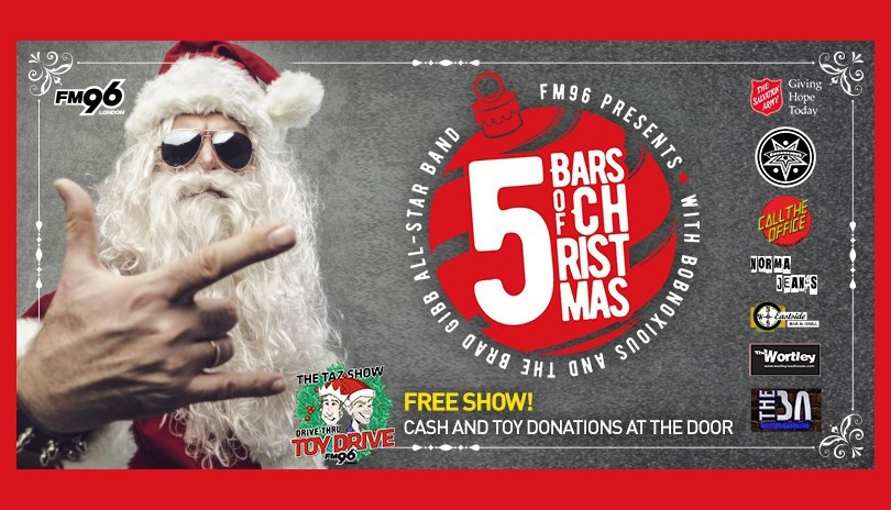 FM96 5 Bars of Christmas - Norma Jean's