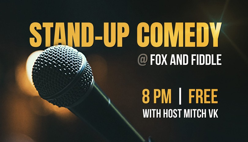 Foxhole Comedy - October 14