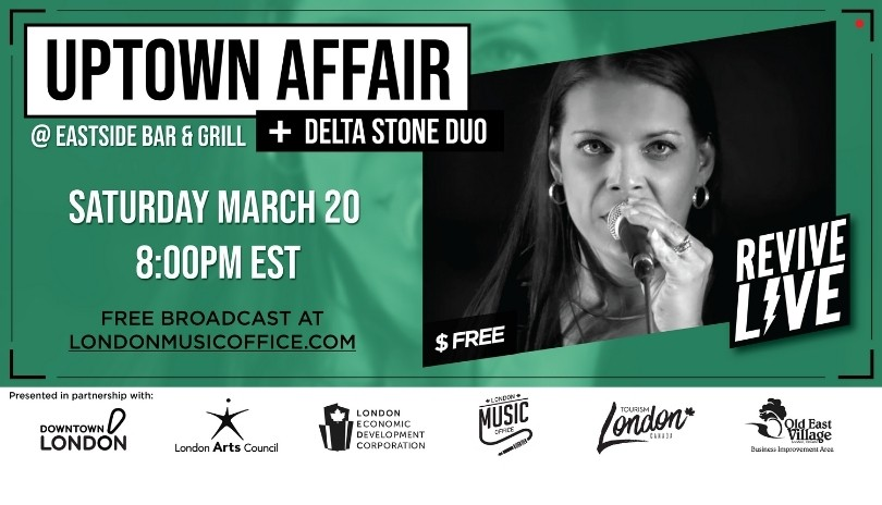 Revive Live with Uptown Affair & Delta Stone Duo