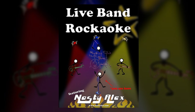Live Band Rockaoke - June 20