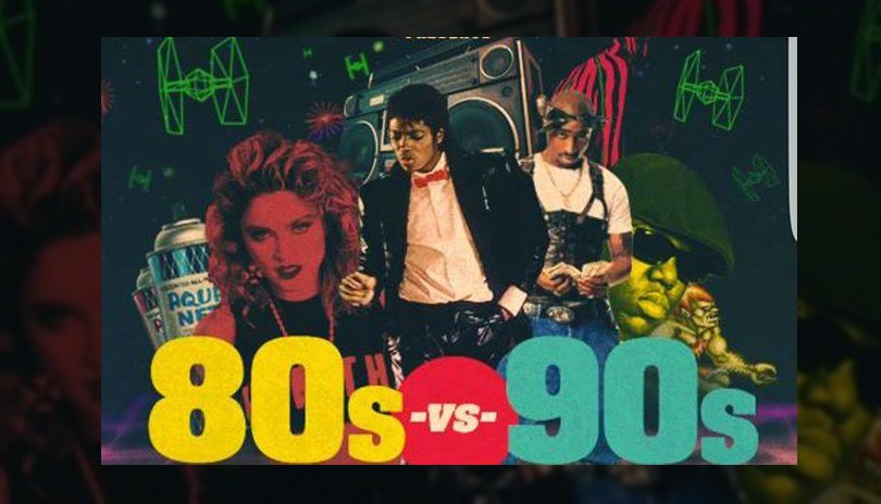 80s vs. 90s Video Dance Party with DJ Kay Jay