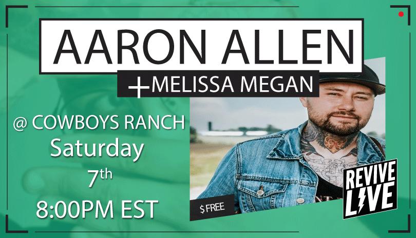 Revive Live with Aaron Allen & Melissa Megan