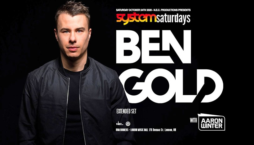 Ben Gold at System Saturday