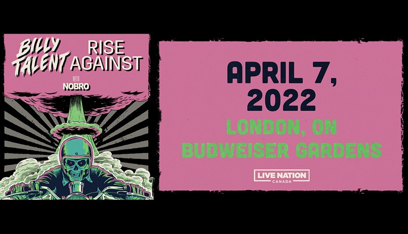 Billy Talent & Rise Against With special guests NOBRO