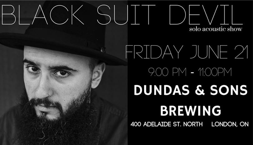 Dundas & Sons Presents: Black Suit Devil