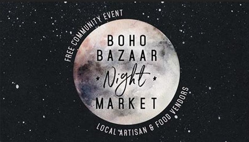 Boho Bazaar Night Market 2018 - July 19