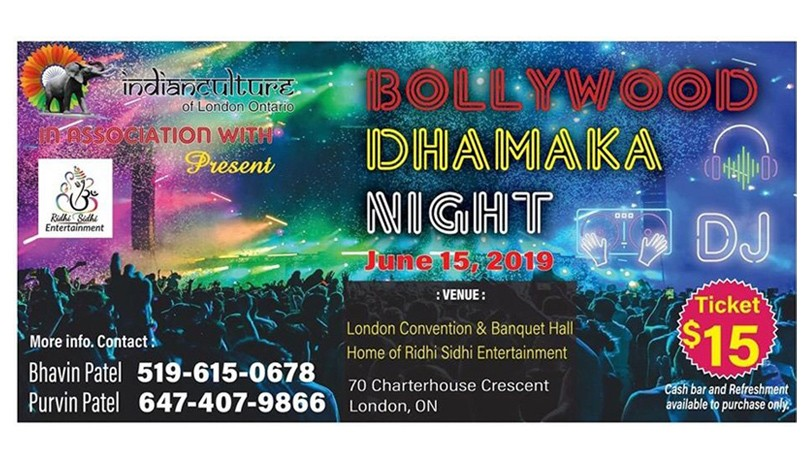 Bollywood Dhamaka Night