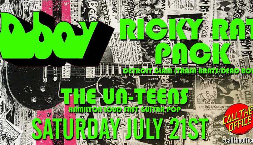 Dboy, Ricky Rat Pack & The Un-Teens