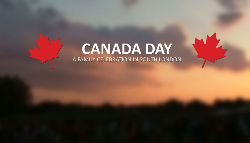 Canada day at White Oaks park
