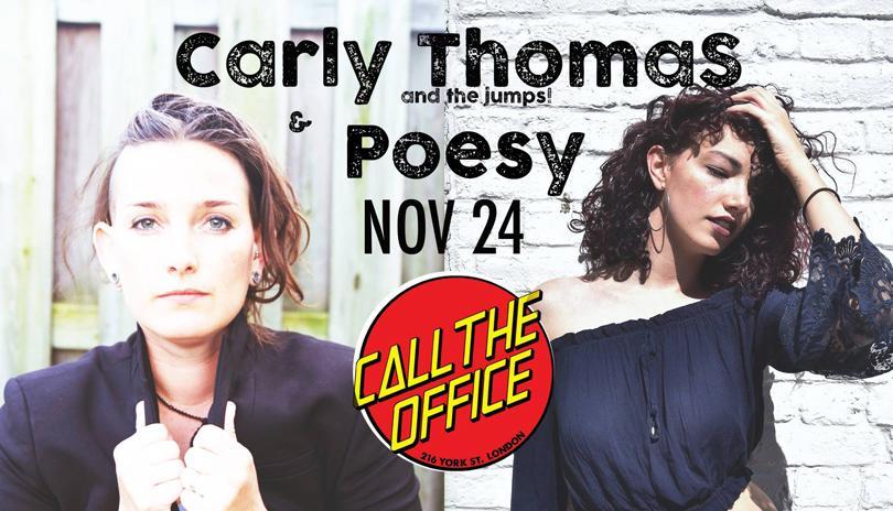 Carly Thomas Band with Poesy
