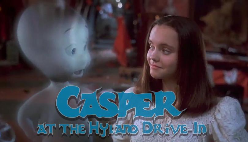 Casper (1995) - Halloween at the Hyland Drive-In