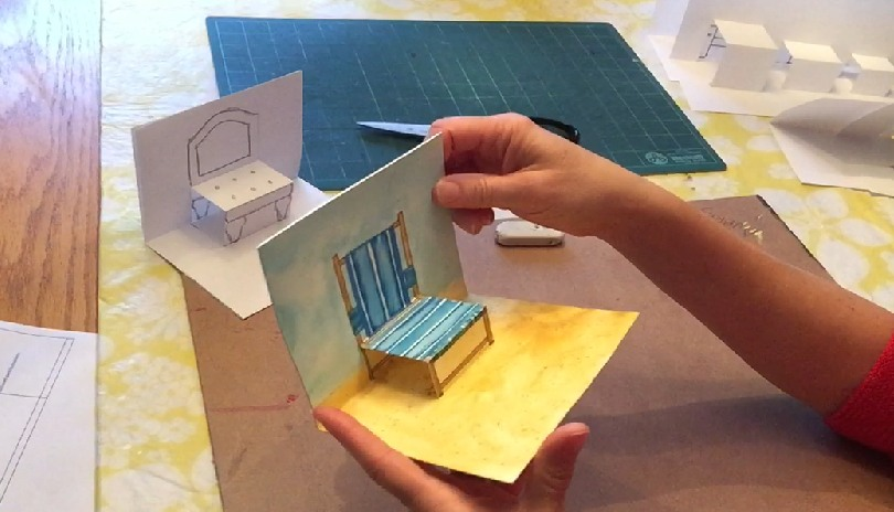 Imagination Station @ Home: Chairs Pop-Up Tutorial